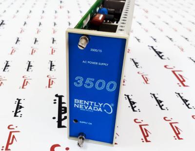 کارت منبع تغذیه مانیتورینگ لرزش بنتلی نوادا Bently Nevada Power Supply 3500/15