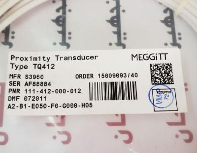 پراب یا سنسور وایبرومتر 012-000-412-111 Vibro-Meter Meggitt proximity sensor TQ412