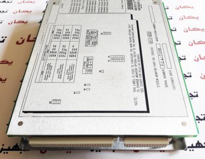 کارت مانیتورینگ بنتلی نوادا  Bently Nevada 330003 System Monitor PWA 87890-01