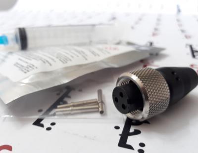 کانکتور 3 پین CC-A3A-250 - 3 Socket, crimp MIL-Style connector kit CTC