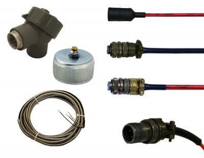 تجهیزات جانبی ترانسمیتر و سنسورهای لرزشی متریکس